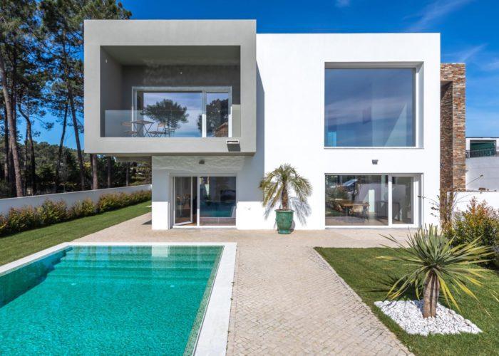 Location de vacances Aroeira. Location saisonnière. Villa avec piscine Aroeira. 8 personnes.